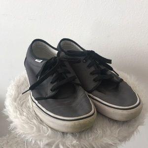 Vans Grey Low Top Sneakers